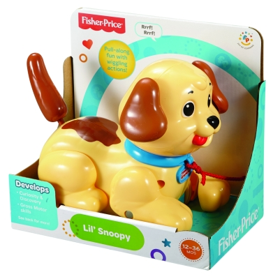 FISHER PRICE SNOOPY HUND H9447 i gruppen Leker / Babyleker / Babyleker og aktivitetsle hos Gla´pris (Efa Marked AS) (27084279276-524---)