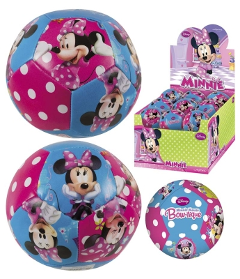 BALL SOFT 10 CM MINNIE i gruppen Leker / Uteleker: / Ute spill og ball aktivit hos Gla´pris (Efa Marked AS) (4006149528715-524---)