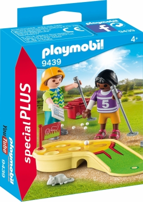 PLAYMO BARN SOM SPILLER MINIGOLF i gruppen Leker / Action figurer diverse: / Playmobil hos Gla´pris (Efa Marked AS) (4008789094391-516---)