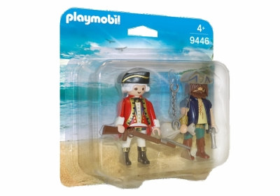 PLAYMO DUOPACK MED PIRAT OG SOLDAT i gruppen Leker / Action figurer diverse: / Playmobil hos Gla´pris (Efa Marked AS) (4008789094469-516---)