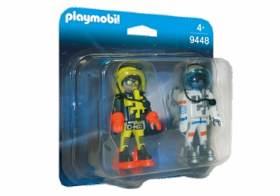 PLAYMO DUOPACK MED VERDENSROMHELTER i gruppen Leker / Action figurer diverse: / Playmobil hos Gla´pris (Efa Marked AS) (4008789094483-516---)