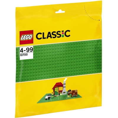 LEGO GRØNN BASISPLATE i gruppen Leker / Lego / Lego hos Gla´pris (Efa Marked AS) (5702015357142-510---)