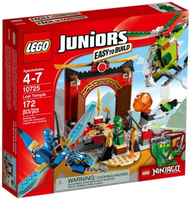 LEGO JUNIORS FORSVUNNET TEMPEL i gruppen Leker / Lego / Lego hos Gla´pris (Efa Marked AS) (5702015592116-510---)