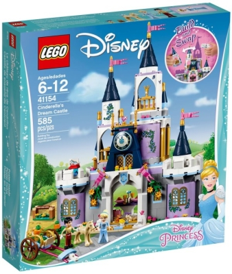 LEGO ASKEPOTTS DRØMMESLOTT i gruppen Leker / Lego / Lego girls hos Gla´pris (Efa Marked AS) (5702016111682-510---)