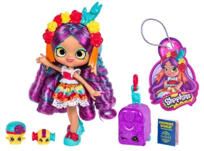 SHOPKINS SHOPPIES WORLD TOUR AMERICA ASS i gruppen Leker / Diverse: / Temaserier ( jente ) hos Gla´pris (Efa Marked AS) (5710948323646-508---)