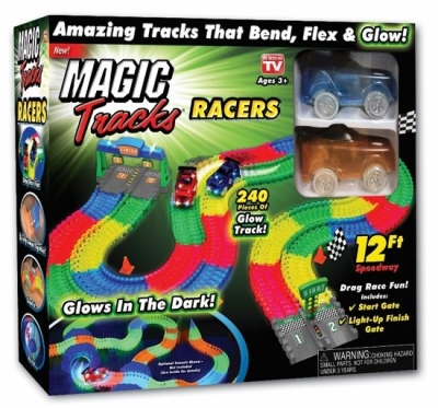 MAGIC TRACKS RACER SET i gruppen Leker / Bilbaner og tog / Bilbaner hos Gla´pris (Efa Marked AS) (5710948324865-508---)