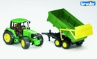 BRUDER JOHN DEERE 6920 WITH TIPPING TRAI