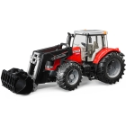 BRUDER MASSEY FERGUSON 7600 WITH FRONTLO