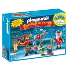 PLAYMO ADVENT CALENDAR SANTA CLAUS PA