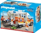 PLAYMO AMBULANCE WITH SIREN