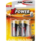 ANSMANN X-POWER BATTERI C / LR14 2PK
