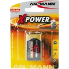 ANSMANN X-POWER BATTERI 9V