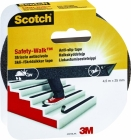SCOTCH ANTISKLITAPE 4401BLA 25MMX4.5M SO