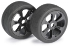 WHEEL SET BUGGY 6 SPOKE / STREET BLACK 1