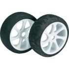 WHEEL SET BUGGY 7 SPOKE / STREET WHITE 1