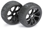 WHEEL SET BUGGY 7 SPOKE / STREET BLACK 1