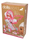 DOLLS WORLD COMBI VOGN M/BÆREVESKE