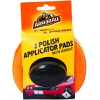 ARMOR ALL APPLICATOR PAD W/HANDLE 3PK