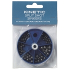 KINETIC SPLIT SHOT LEAD SINKERS ASSORTME