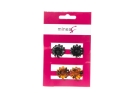 MINEAS HAIRGRIP 2PCS FLOWER COLOR ASSORT