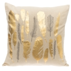 4LIVING PUTE GOLD FEATHER 45X45CM