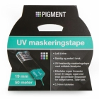 PIGMENT MASKERINGSTAPE UV 19 MM 50 M BLÅ