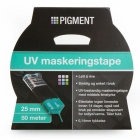 PIGMENT MASKERINGSTAPE UV 25 MM 50 M BLÅ