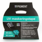 PIGMENT MASKERINGSTAPE UV 38 MM 50 M BLÅ