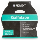 PIGMENT GAFFA TAPE 50 MM 50 M SØLV