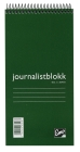 JOURNALISTBLOKK EMO 105X210MM LIN 100BL
