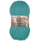 GARN VIKING HIGHLAND ECO WOOL PETROL 229
