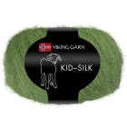 GARN VIKING KID SILK 332 GRØNN