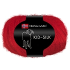 GARN VIKING KID SILK 350 RØD