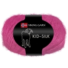 GARN VIKING KID SILK 363 CERISE
