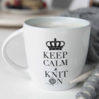 STRIKKEKOPP KEEP CALM & KNITB ON