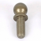 ALU 4.9MM BALL END MED(4PCS)