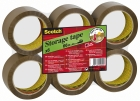 EMBALLASJETAPE SCOTCH® 50MMX66M BRUN (6)