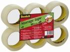 EMBALLASJETAPE SCOTCH® 50MMX66M KLAR (6)
