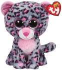 TY TASHA PINK/GREY LEOPARD MEDIUM