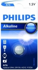 PHILIPS BATTERI CELLE ALK A76/LR44