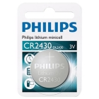 PHILIPS BATTERI CELLE LITHIUM CR2430
