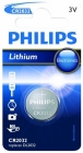 PHILIPS BATTERI CELLE LITHIUM CR2032