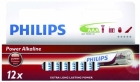 PHILIPS BATTERI ALK LR03/AAA 12PK