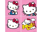 BILDE 25X25CM HELLO KITTY