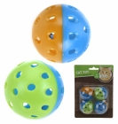 BALL FOR KATT MED BJELLE 4 PK