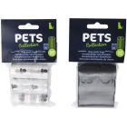 DOGGYBAGS, 3 X 15 PCS, PP, 2 ASSORTED CO