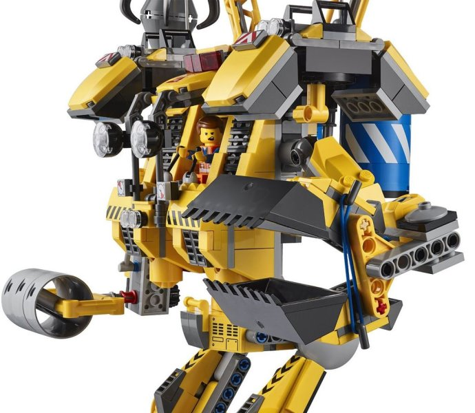 The Lego Movie Emmets Construct O Mech 70814 Bennys Spaceship 70816