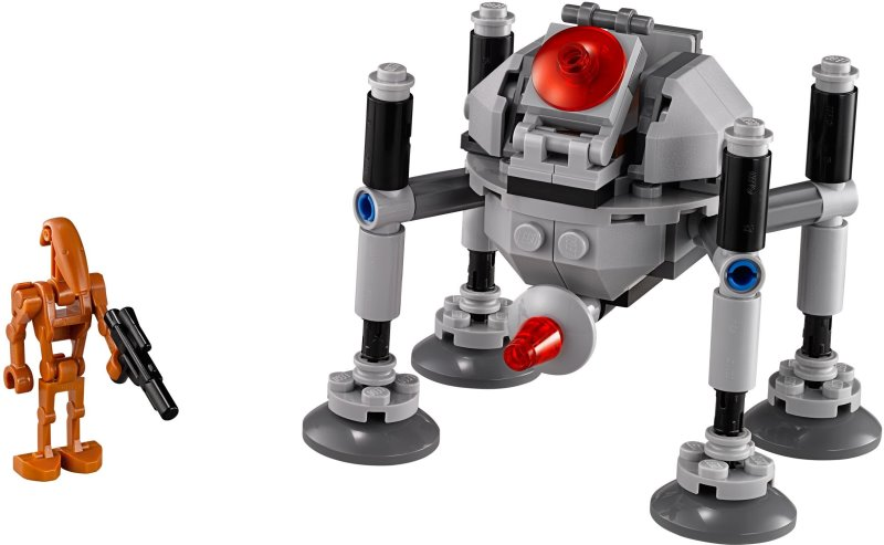 how to build a lego spider droid